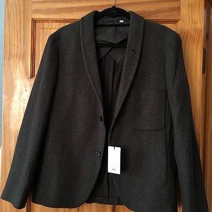 Uniqlo x Lemaire Wool shawl collar Blazer NWT S